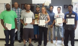 8 Graduate from Maritime Foundations Class