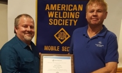 Maritime Instructor Receives AWS Award