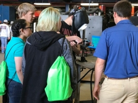 Maritime Center hosts career fair for 300 students to learn about technology careers in Alabama