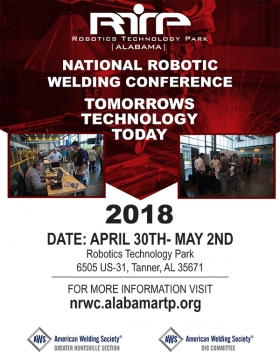 2018 National Robotic Welding Conference